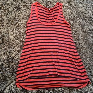 Splendid tank top shirt sleeveless red black M
